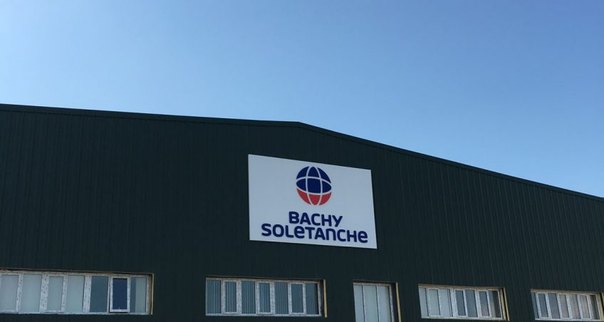 Bachy Soletanche External Illuminated Sign