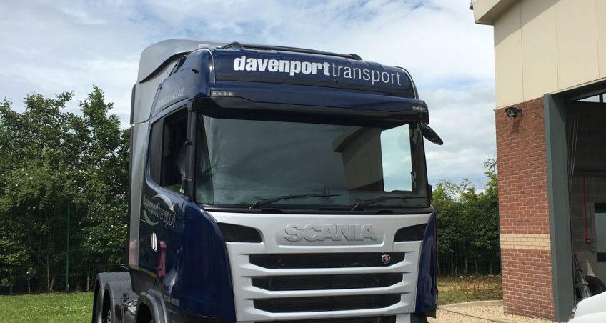 Davenport Transport's Fresh Look for the Fleet