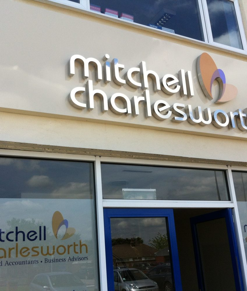 External Sign – Mitchell Charlesworth