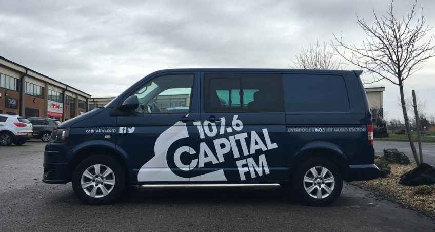 Vehicle Wrap for Capital FM 107.6