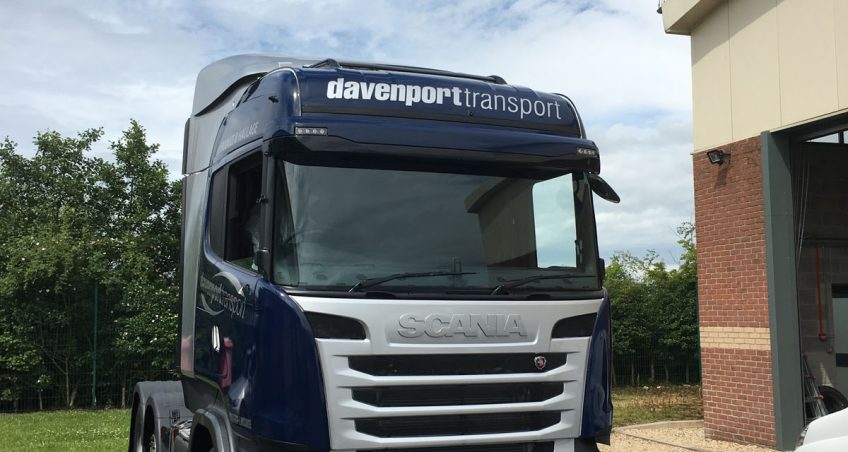 Davenport Transport's Fresh Look for the Fleet