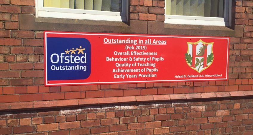Halsall St Cuthberts Signs