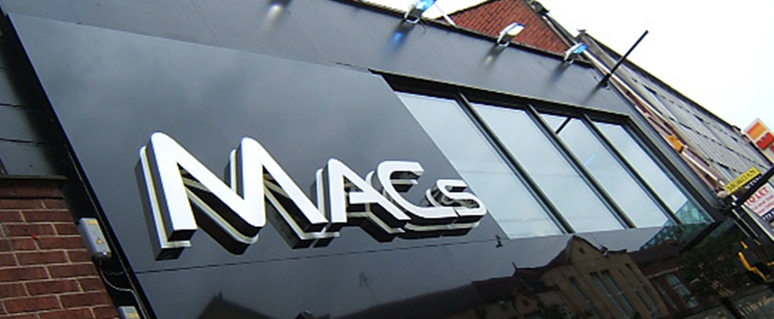 Internally Illuminated Neon Sign for MAC's Nightclub and Bar