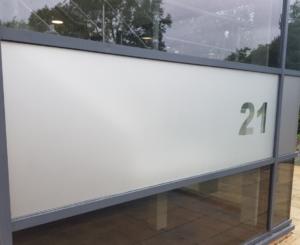 etched window film